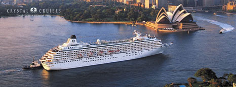 CRYSTAL CRUISES VOTED BEST CRUISE LINE 2009