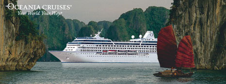 Oceania Cruises Riviera makes her debut